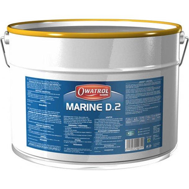Owatrol D2 olie 2,5 ltr.