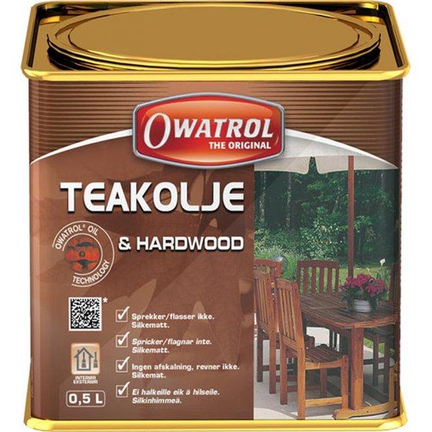 Owatrol Teak olie 0.5 ltr