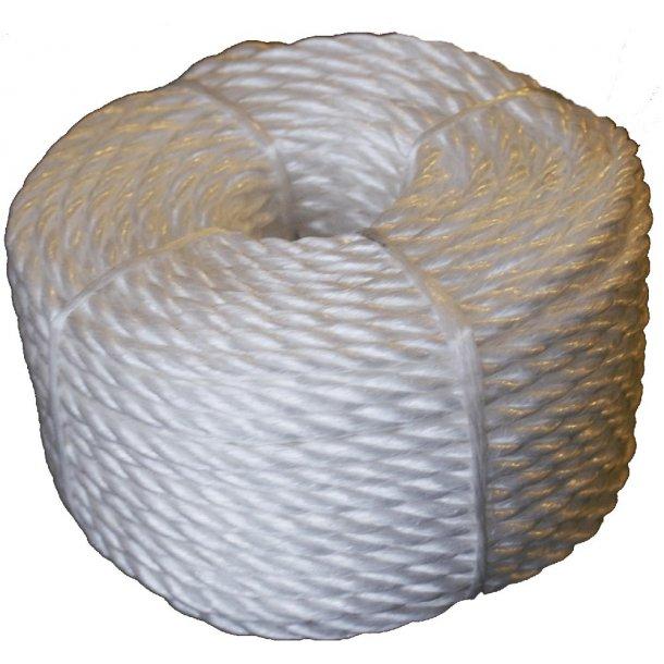 Presenningline Ø 6mm L 30m hvid
