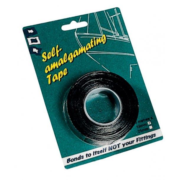 Vulkaniserende vandtæt tape 19mmx5m sort