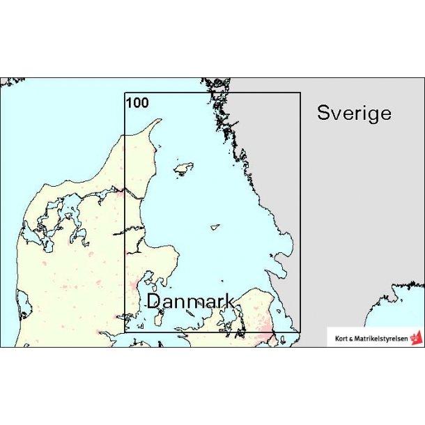 Sokort Da 157 Vejle Fjord