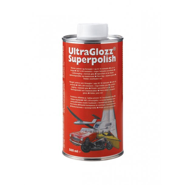 UltraGlozz polish/lakforsegler 500ml
