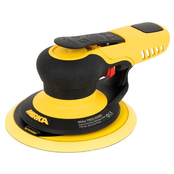 Mirka slibemaskine pros650cv ø 150mm - 5.0mm - luft