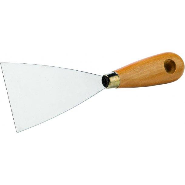 Spartel m/træskaft B.40mm
